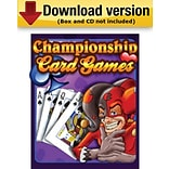 Championship Card Games for Windows (1 - User) [Download]