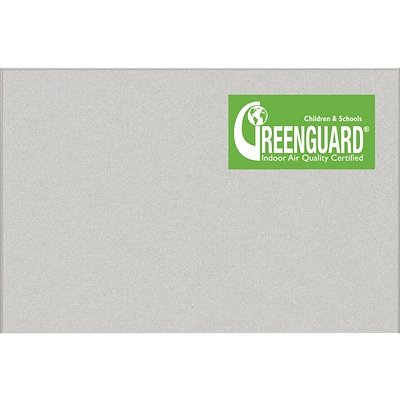 Best-Rite Ultra Trim Pebbles Vinyl Bulletin Board, Light Quarry, 4 x 6