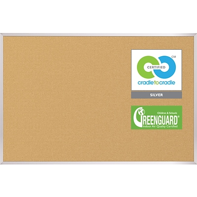 Best-Rite VT Logic Board Corkboard, 3 x 4