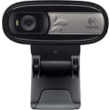 Logitech C170 Computer Webcam with Microphone (960-000880)