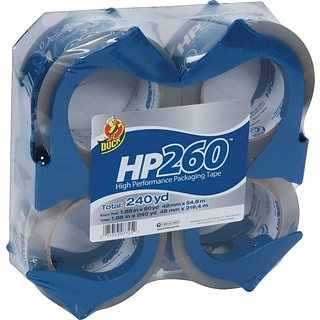 Duck® HP260 Packing Tape w/Reusable Dispenser