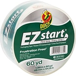 Duck® EZ-Start® Crystal-Clear Packing Tape, 1.88 x 60 yds, Each