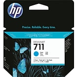 HP 711 Cyan Ink Cartridge (CZ130A); 29ml