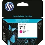 HP 711 Magenta Ink Cartridge (CZ131A); 29ml