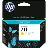 HP 711 Yellow Ink Cartridge (CZ132A); 29ml