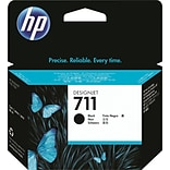 HP 711 Black Ink Cartridge (CZ133A), 80ml, High Yield