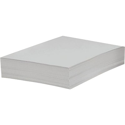 Domtar Bright White Cover Stock, LETTER-Size, 96 US Brightness, 67 lb., 8 1/2 x 11, 250 Sheets/Pack