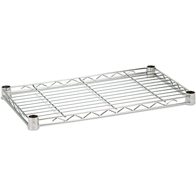 Honey Can Do Steel Shelf, 350lb 14 X 24, Chrome
