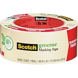 Scotch® Greener Masking Tape for Performance Painting, 1.88W x 60 Yds