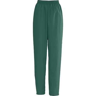 AngelStat® Ladies Elastic Draw Cord Scrub Pants, Hunter Green, Large