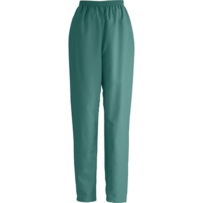 ComfortEase™ Ladies Elastic Scrub Pants, Evergreen, Large, Regular Length