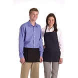 Medline Bib Aprons with Pockets; Navy