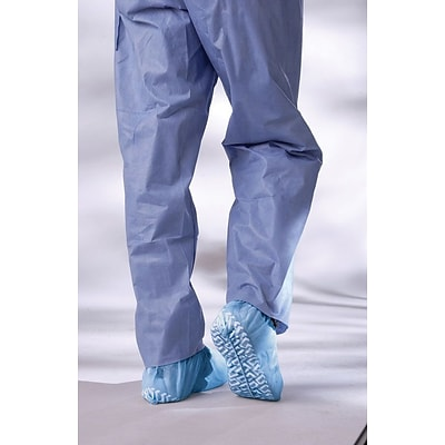Medline Non-skid Multi-layer Shoe Covers, Blue, 300/Case