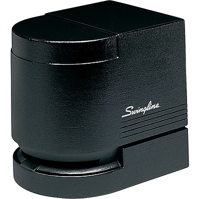 Swingline® Heavy Use Desktop Cartridge Automatic Electric Stapler, 25 Sheet Capacity, Black