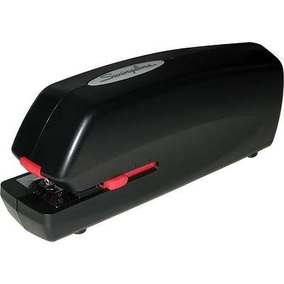 Swingline® Portable Electric Stapler, 20 Sheet Capacity, Black (48200)