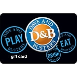 Dave n Busters Gift Card $100