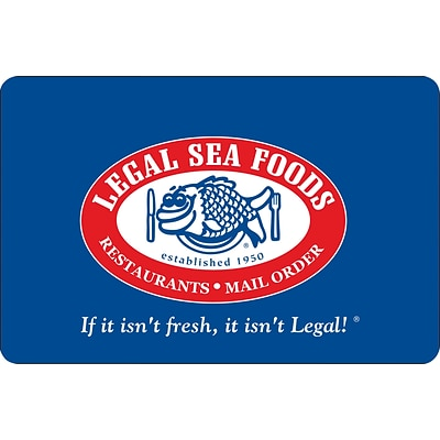 Legal Sea Foods Gift Card $50