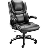 Quill Brand® Luxura® Black Managers Chair