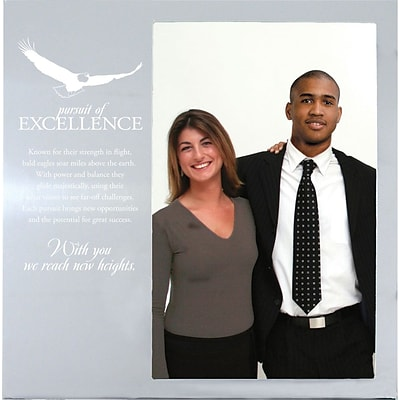 Baudville® Silver Photo Frame, Pursuit of Excellence
