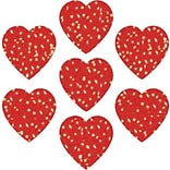 Carson-Dellosa Hearts; Red Dazzle™ Stickers
