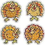 Carson-Dellosa Turkeys Dazzle™ Stickers
