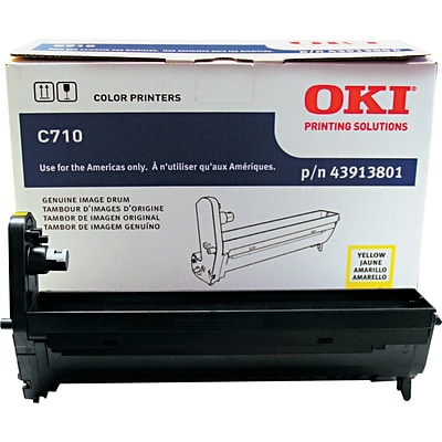 OKI® C710 (43913801) Yellow Image Drum