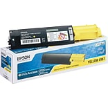 Epson® S050187 Toner, 4000 Page-Yield, Yellow