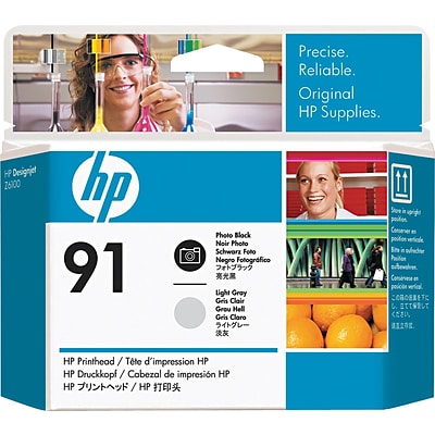 HP 91 (C9463A) Photo Black and Light Gray Printhead Dual Pack