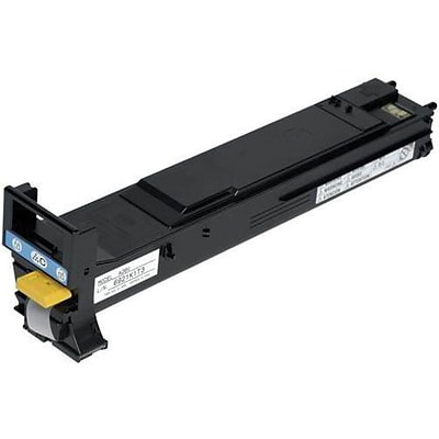 Konica Minolta® Cyan Toner Cartridge; A06V433, High Yield