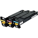Konica Minolta® A06VJ33 Tri-Color High-Yield Toner Cartridges Multi-pack (3 cart per pack)