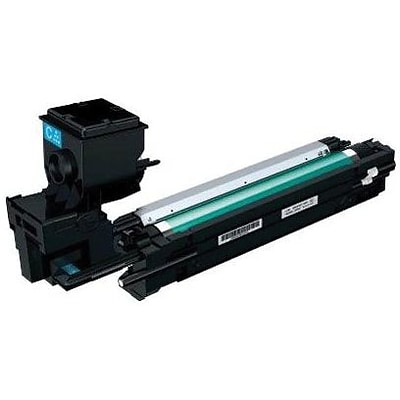 Konica Minolta® Cyan Toner Cartridge; A0WG0JF, High Yield