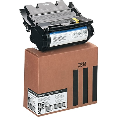 InfoPrint Black Toner Cartridge (75P4301), Standard