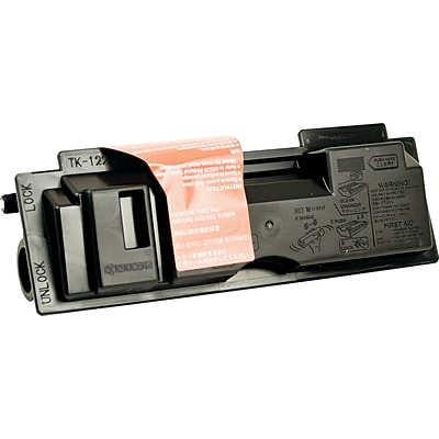 Kyocera Mita® Black Toner Cartridge; TK122, High Yield