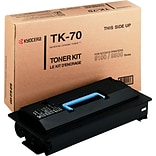 Kyocera Mita® Black Toner Cartridge; TK70, High Yield