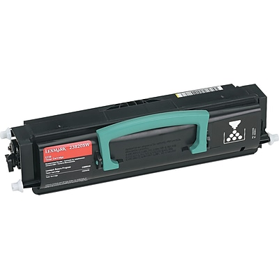 Lexmark™ Black Toner Cartridge, 23820SW