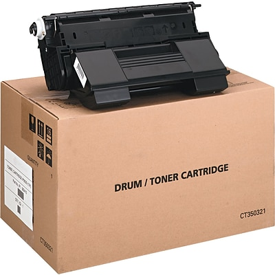 TallyGenicom® Black Toner Cartridge; 062415, High Yield