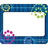 Dots n Swirls Name Tags 40/Pack