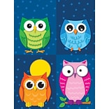 Colorful Owls Prize Pack Stickers