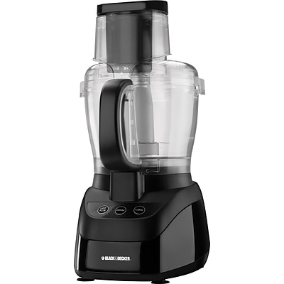 Black & Decker® PowerPro Wide-Mouth 10-Cup Food Processor, Black