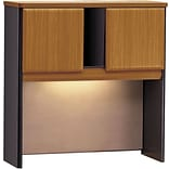 Cubix Series Nat. Cherry/Grey 36 Hutch