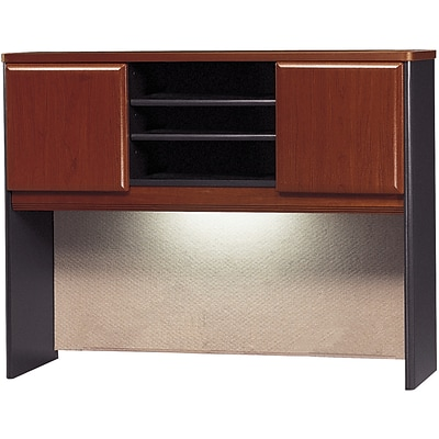 Bush Business Cubix 48W Hutch, Hansen Cherry/Galaxy