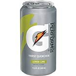 Gatorade® Liquid Concentrate Ready-To-Drink Energy Drink, 11.6 oz Can, Lemon-Lime