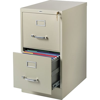 Lorell Commercial-grade Vertical File, Putty, 22