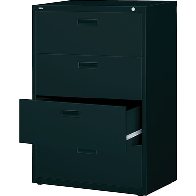 Lorell Lateral File, Black