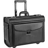 Lorell Carrying Case for 16 Notebook - Black, Black