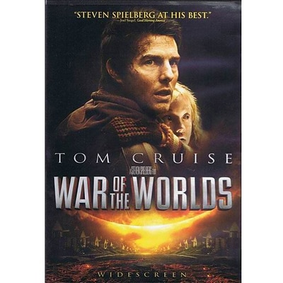 Dreamworks Studio® War Of The Worlds, Wide Screen, DVD