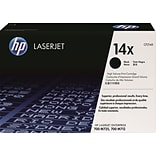 HP 14X Black Toner Cartridge (CF214X); High Yield