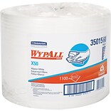 Wipers, Economical Extended Use, White, Jumbo Roll, 9-4/5x13-2/5, 1100/Roll/Ct