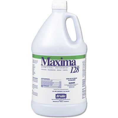 Maxima® 128 Quaternary Disinfectants, 1 Gallon, 4/Pack