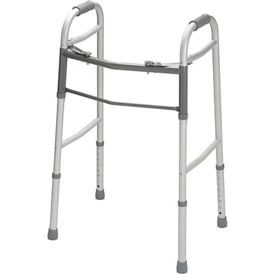 Guardian Signature™ Easy Care® Folding Walkers without Wheels, Junior, 27 - 34 H, 4/Pack